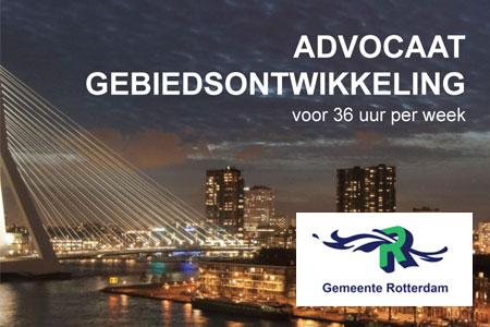 Banner Gemeente Rotterdam