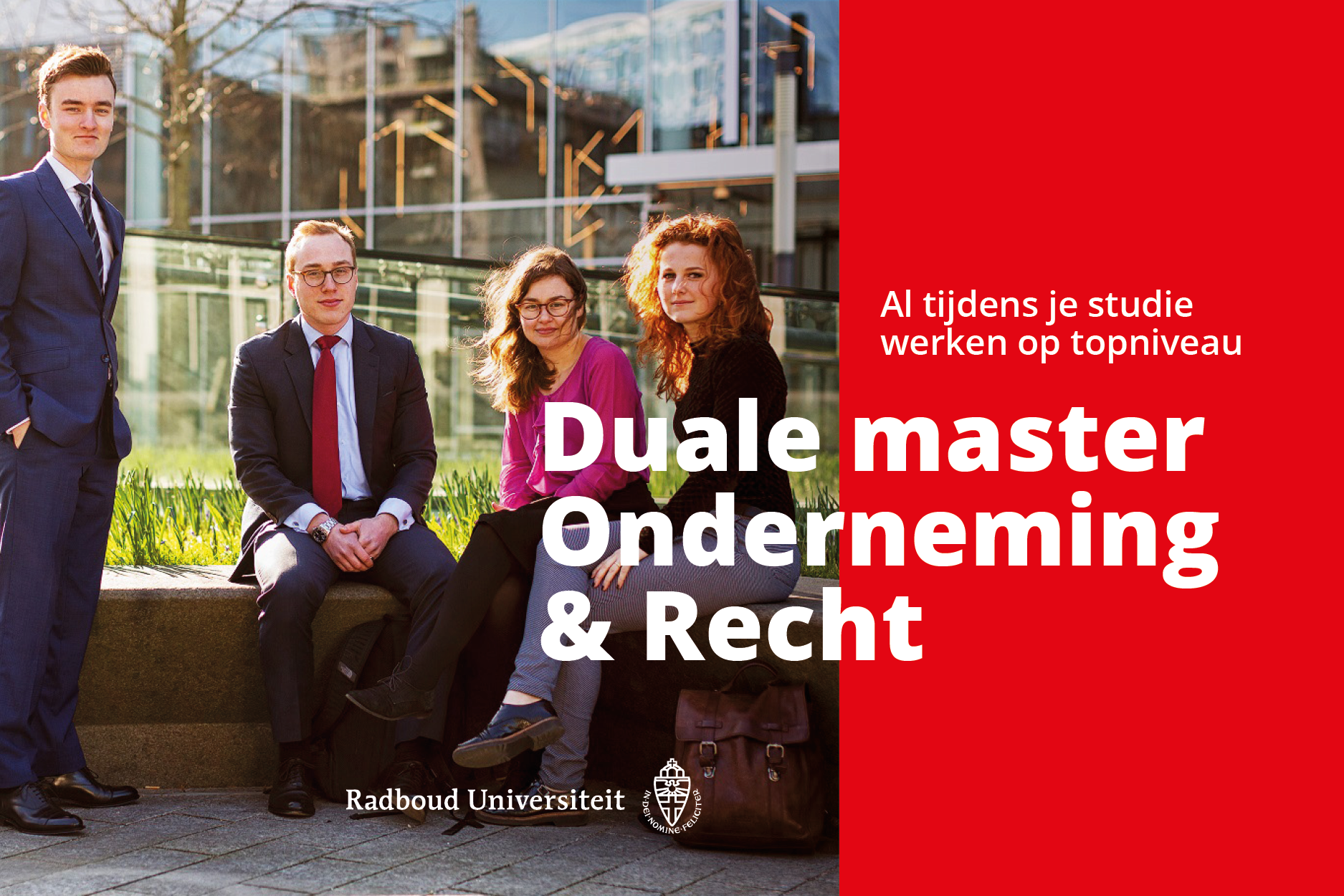 Banner RU Duale Master Onderneming & Recht