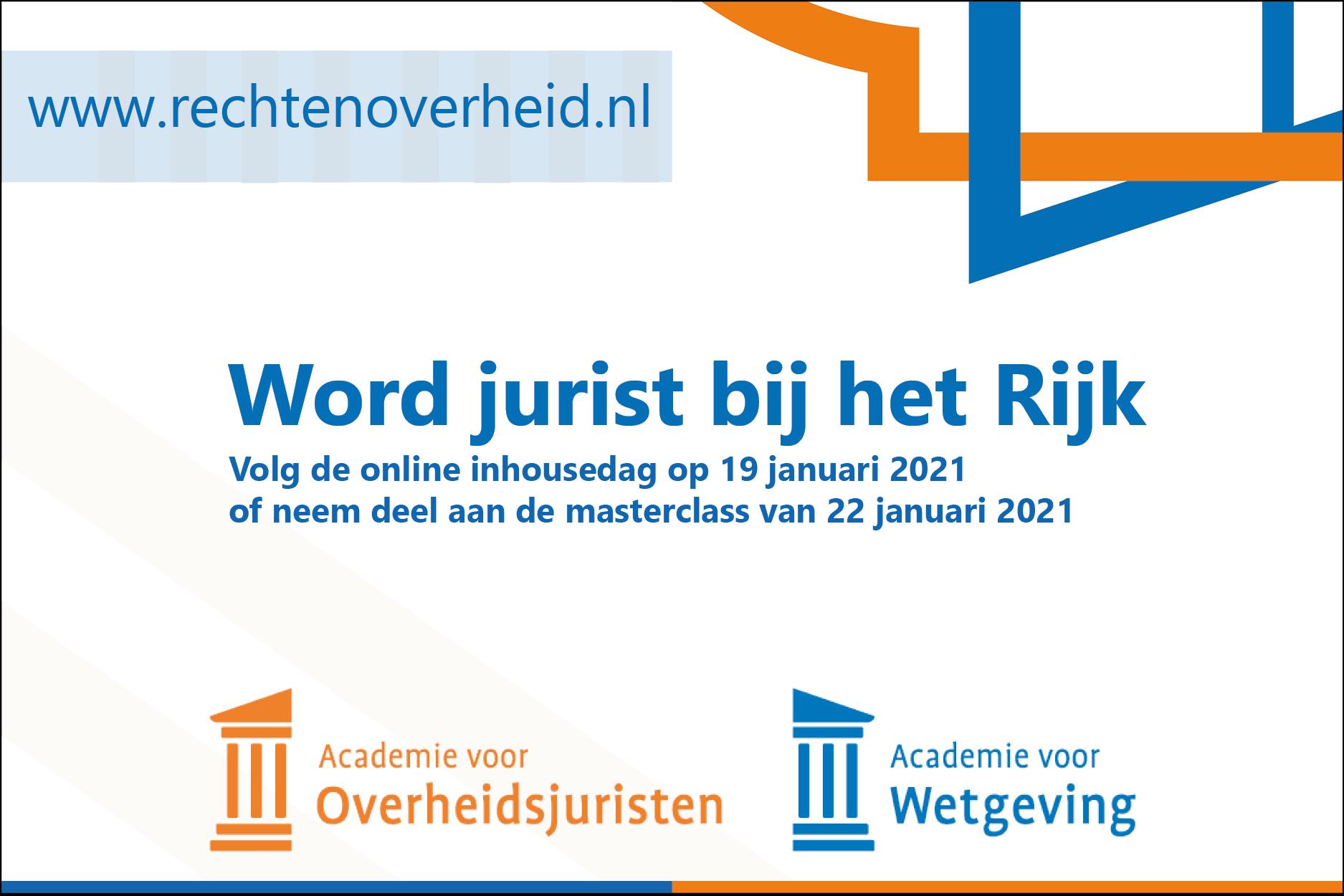 Banner Academie voor Wetgeving