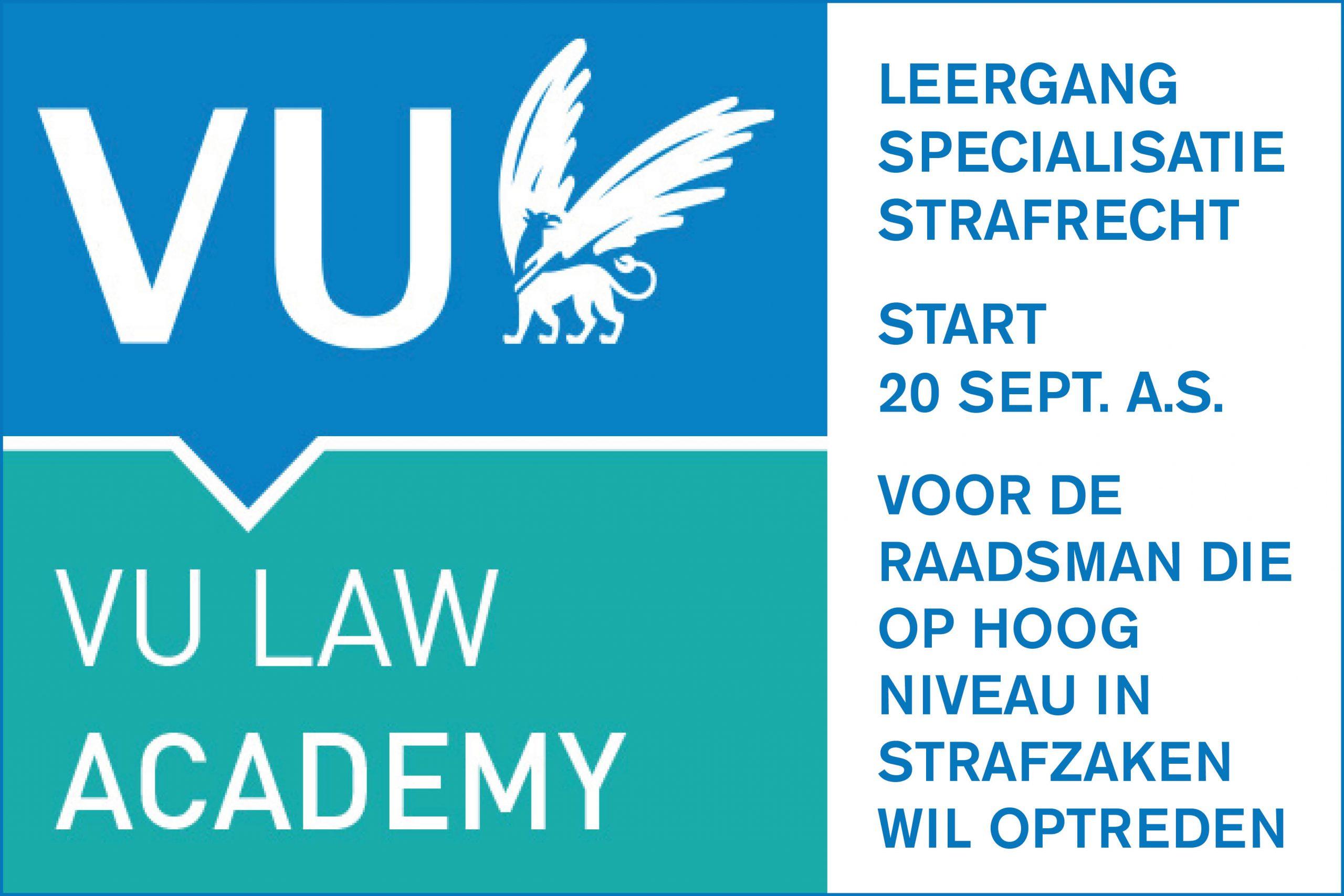 Banner VU Law Academy