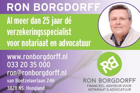 Banner Ron Borgdorff