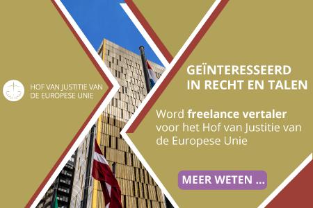 Banner Hof van Justitie EU